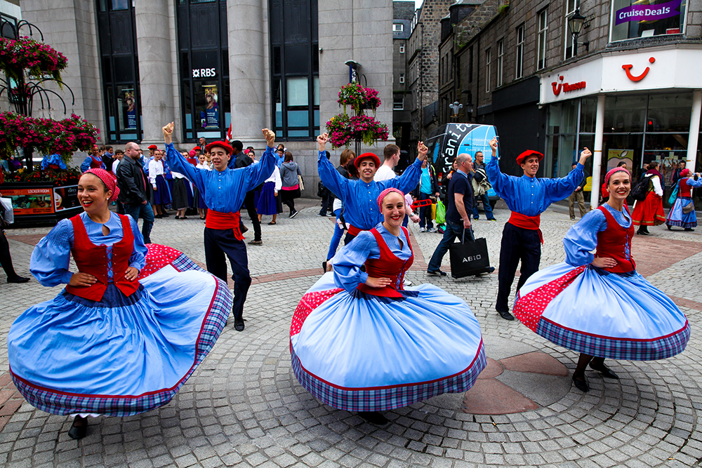 Things to do in July- Aberdeen International Youth Festival