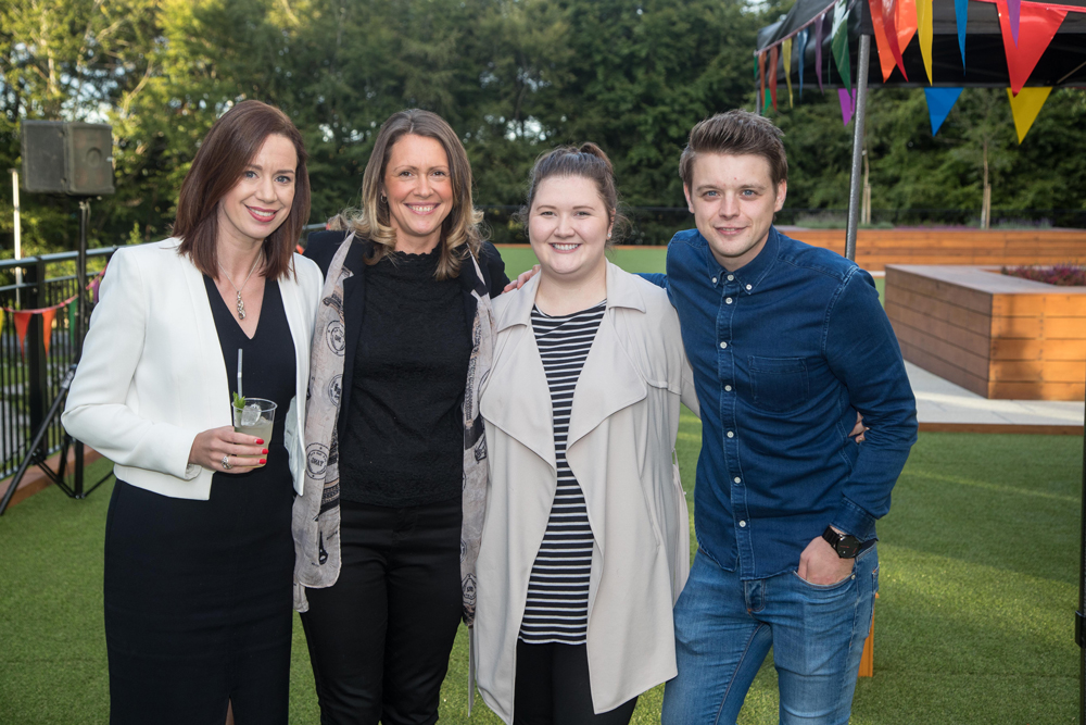 The Dandara Living team: Mandy, Chloe, Emma and James