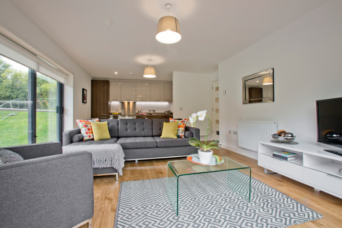 The Living Space at Forbes Place Apartment, Aberdeen